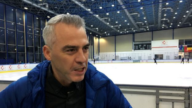 Figure skating coach Bruno Marcotte