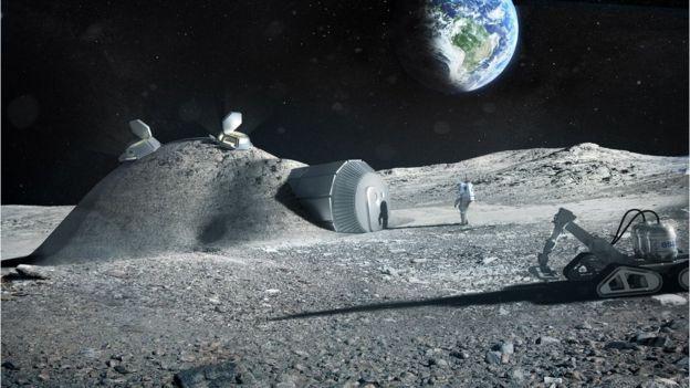 Lunar base concept