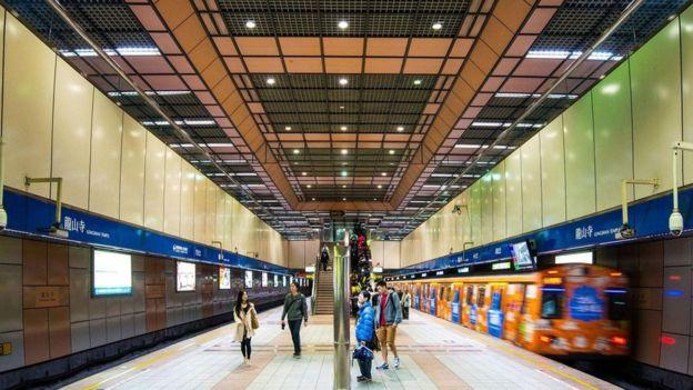 محطة قطار في تايبيه