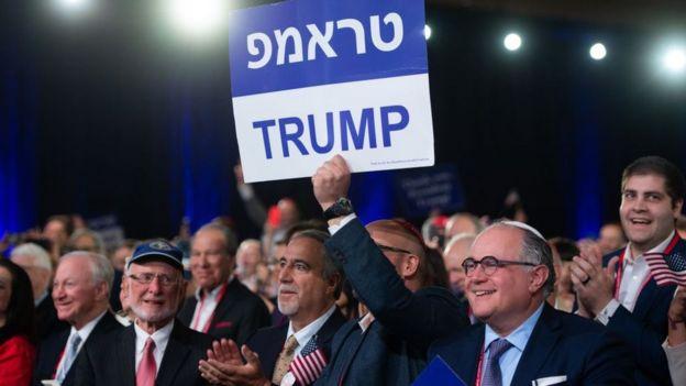Los grupos conservadores judíos han dado su respaldo a Trump.