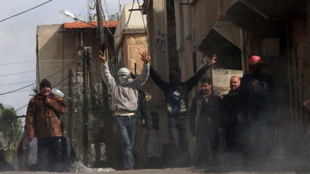 Esat yönetimine karşı ilk kitlesel eylemler 2011'de Dera'da başlamıştı.