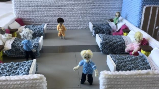 Knitted hospital