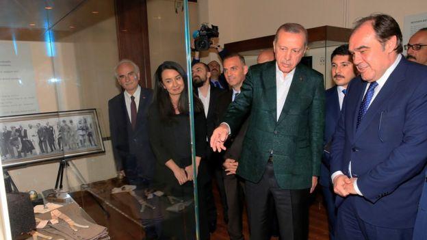Cumhurbaşkanı Erdoğan ve Yıldırım Demirören