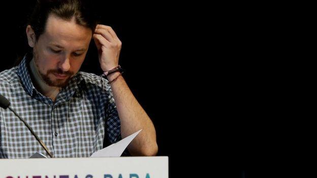 Pablo Iglesias, de Podemos