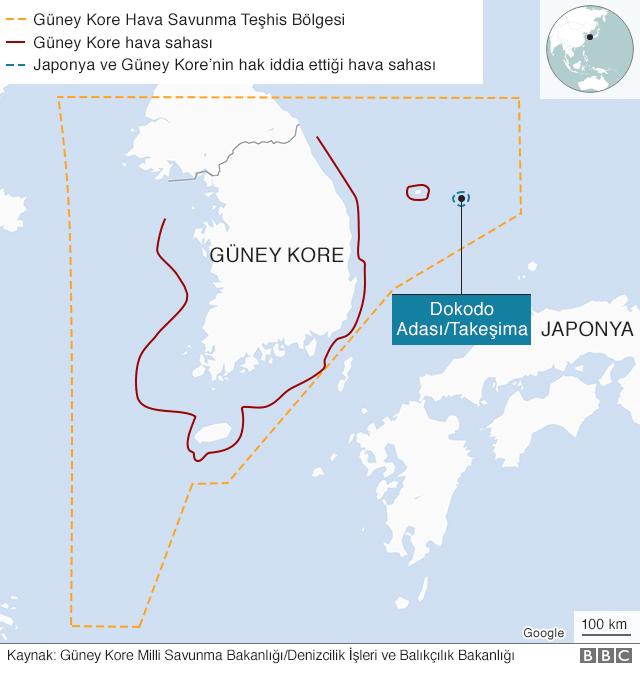 Güney Kore hava sahası