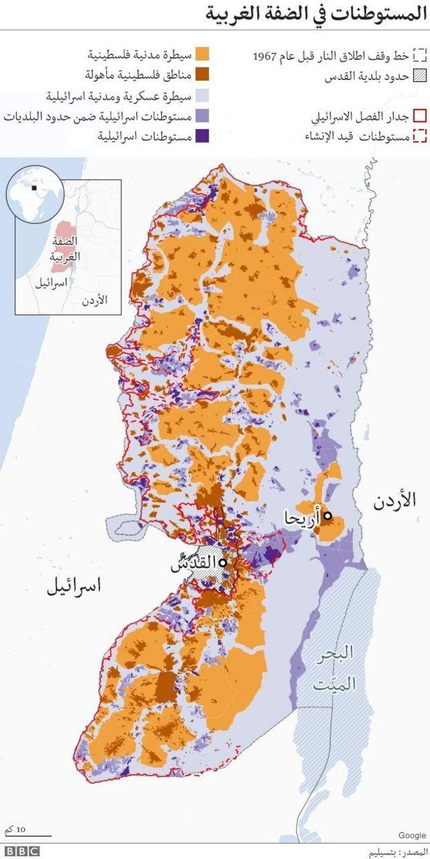 المستوطنات الإسرائيلية في الضفة الغربية