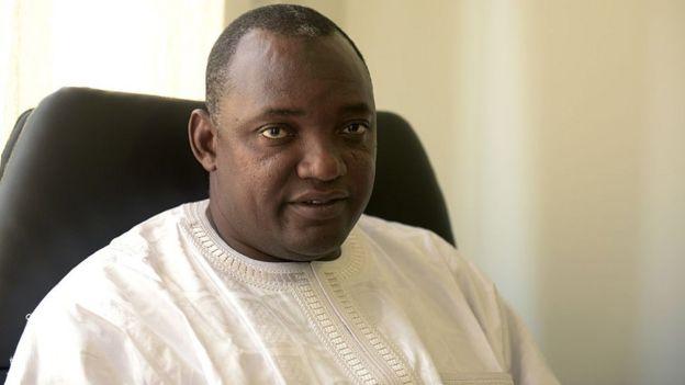Adama Barrow, le président de la Gambie, qui vient de signer l'accord de libre-échange de l'Union africaine.