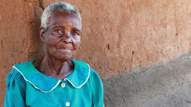 Byson Kaula's mother, Lucy