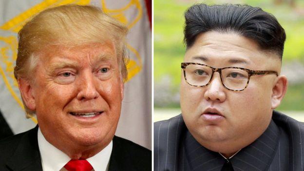 Trump e Kim Jong-un