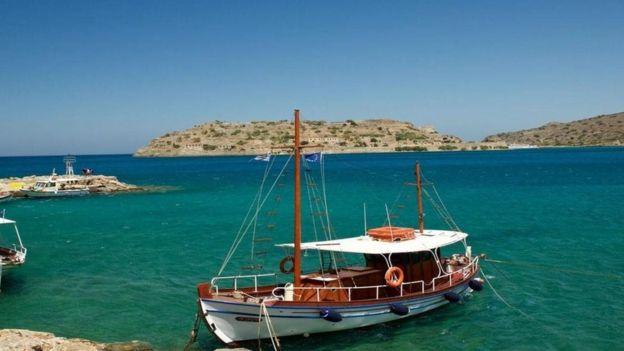 A ilha de Spinalonga