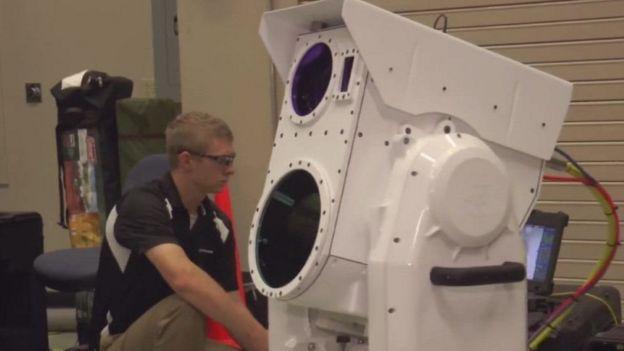 Лазерна гармата компанії Boeing