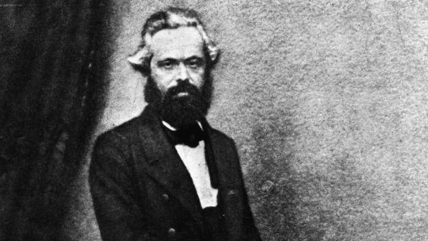 Marx en una foto de 1860