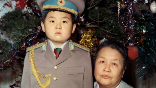 Kim Jong-nam na infância