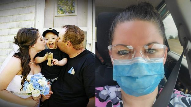 Kristen Beaton was a young wife, mother and health care worker