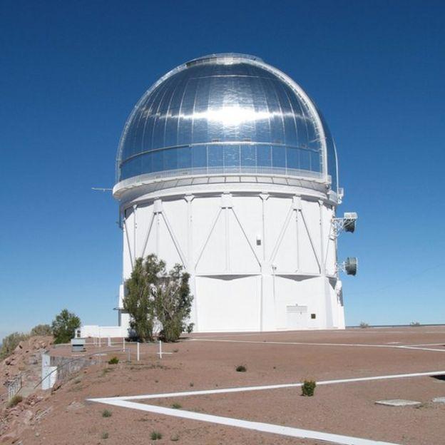 Telescopio Víctor Blanco en Cerro Tololo, Chile