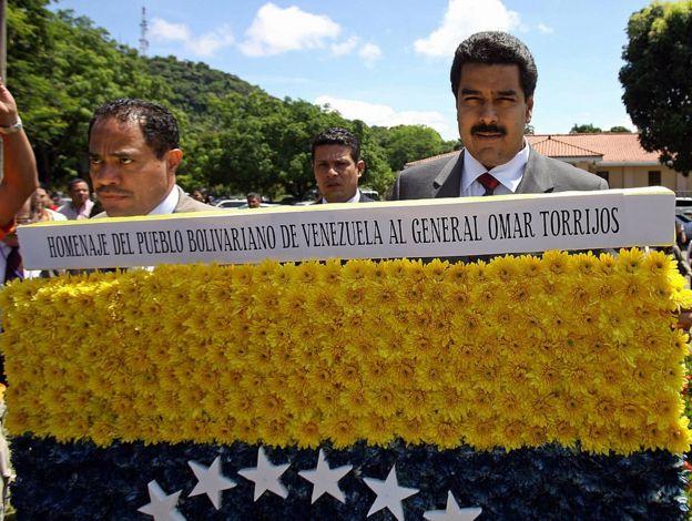 Villegas con Maduro.