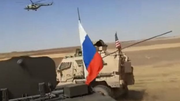 Видеозапись инцидента появилась на российском сайте Rusvesna.su