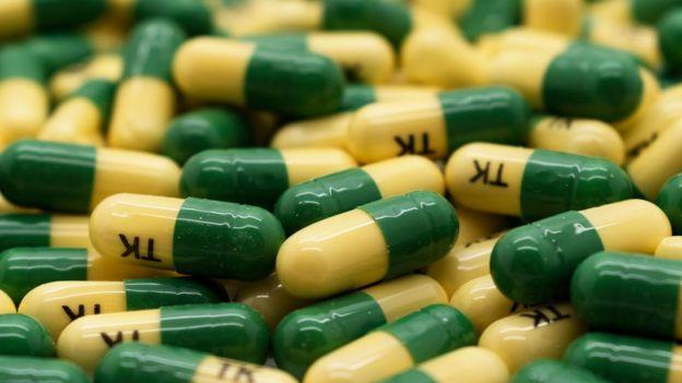 Pastillas de opiáceos