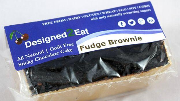 Designed2Eat fudge brownie