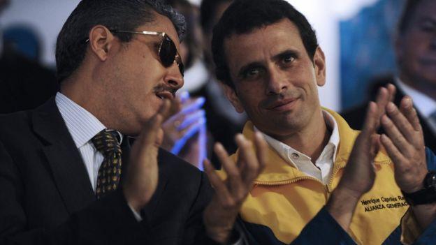 Henri Falcón y Henrique Capriles.