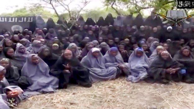 Chibok schoolgirls held by Boko Haram