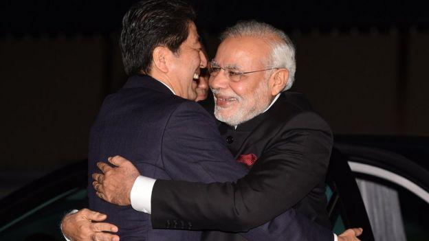 """日本和印度的海外基礎建設計劃稱為""""自由走廊""""。"""