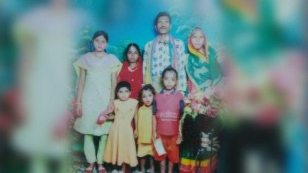 Naresh Singh's family photo