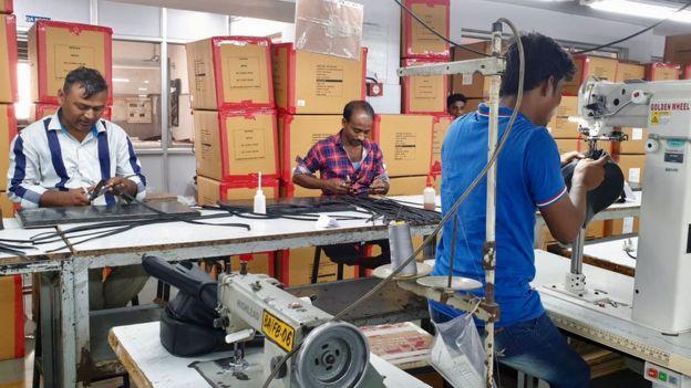Sanjay Leekha's factory