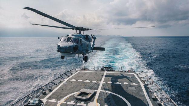 台湾4月13日海军演习