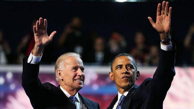 Joe Biden y Barack Obama