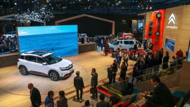 بخش اصلی نمایشگاه خودروی پاریس لغو شد