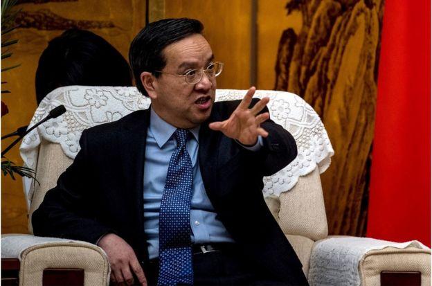 新华社报道称,蒋超良(上图)不再担任湖北省委书记、常委、委员职务(资料照片)。