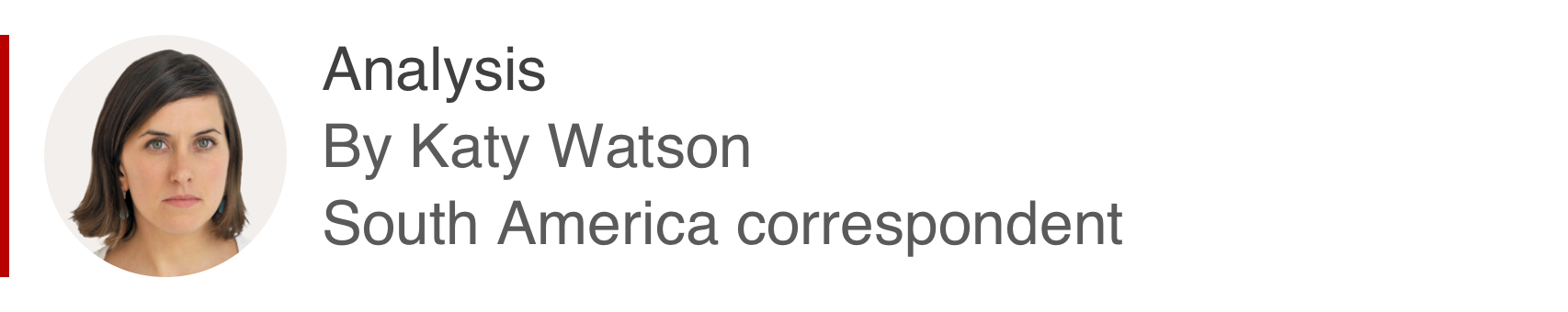 Analysis box by Katy Watson, South America correspondent