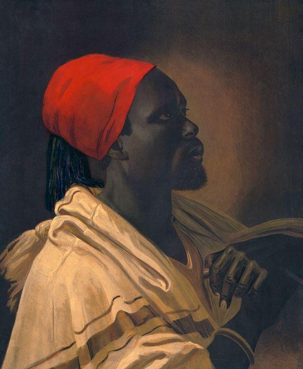 François-Dominique Toussaint L'ouverture, alias El Napoleón Negro, uno de los héroes de la Revolución que tan caro les costó. George De Baptiste