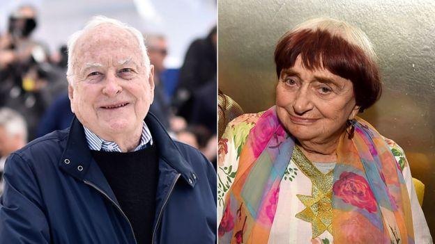 James Ivory and Agnes Varda