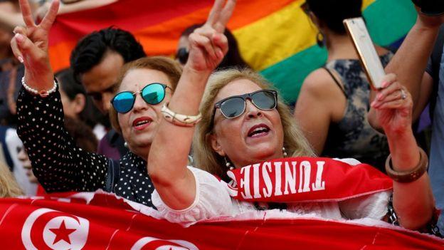 مسيرات شهدتها شوارع تونس للمطالبة بالمساواة