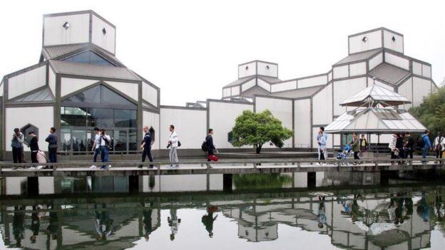 贝聿铭为故乡苏州设计了博物馆新馆
