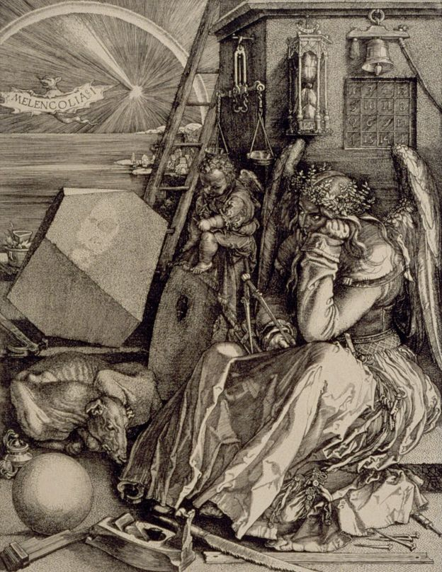 Melancolía, Alberto Durero, 1514.