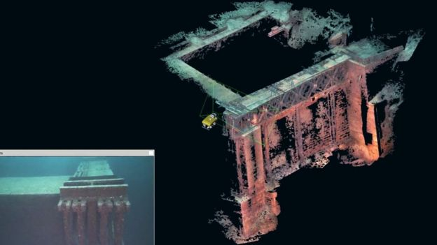 Los robots siguen su propio camino en las profundidades del océano