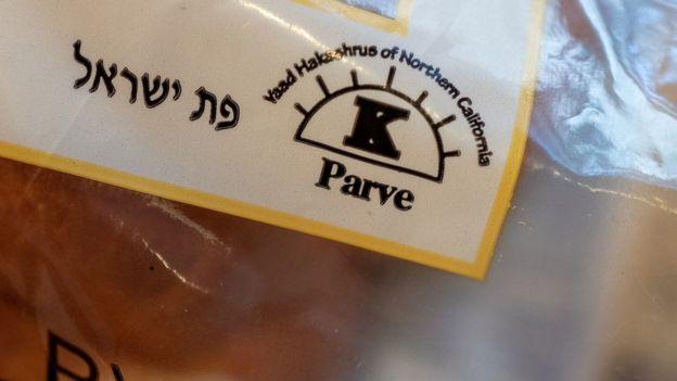 Paquete de comida kosher y parve