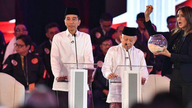 Joko Widodo dan Ma'ruf Amin