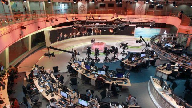 ห้องข่าวสำนักข่าวอัลจาซีรา