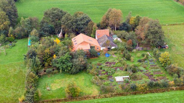 fazenda em Ruinerwold
