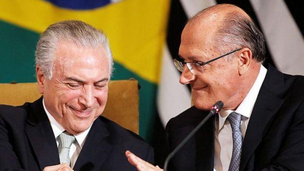 Temer e Alckmin