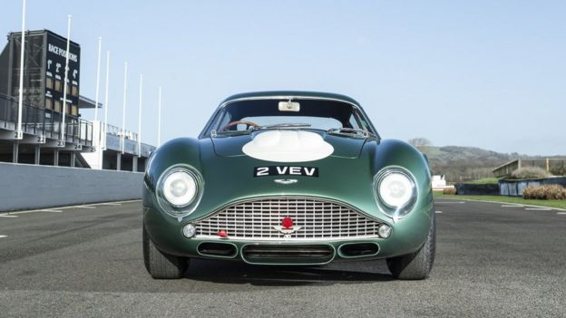 Classic Aston Martin Sells For Record M At Auction BBC News - Classic aston martin for sale