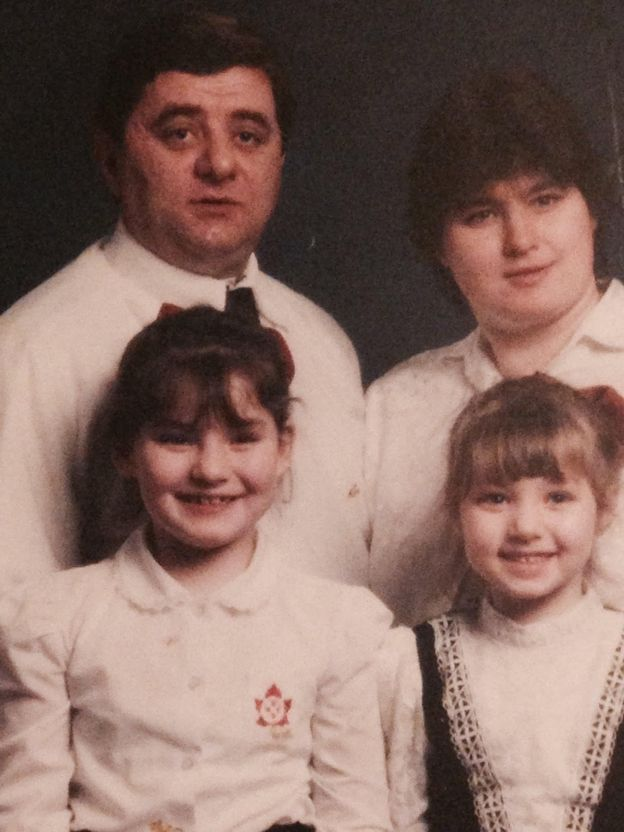 Família de Karina Ambartsaumian-Clough