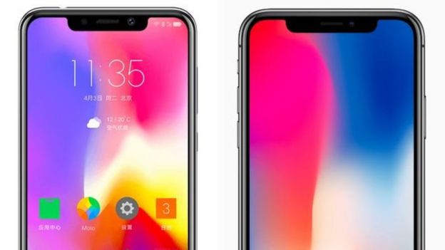 Знайдіть різницю: P30 та iPhone X
