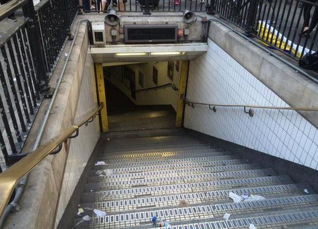 Oxford Circus Tube station entrance