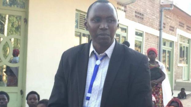 Etienne Muvunyi, umuyobozi w'umurenge wa Musambira/Kamonyi District