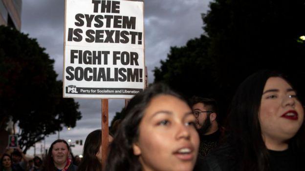 Pancarta por el socialismo